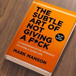 June Reading Challenge: The Subtle Art of Not Giving a F*ck by Mark Manson